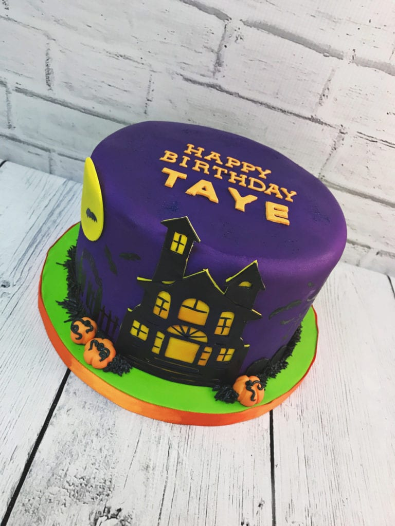 Miraculous Haunted House Birthday Cake The Cake Boutique Personalised Birthday Cards Epsylily Jamesorg