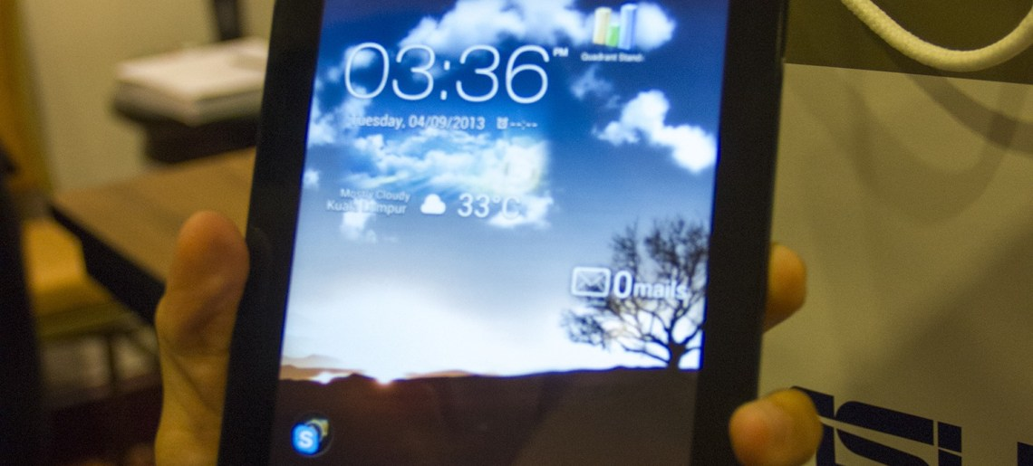 Review : Asus Fonepad