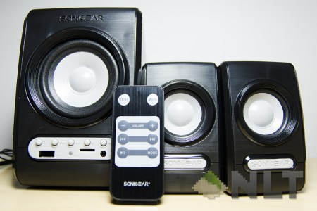 Review Sonicgear Quatro V Speakers Nasi Lemak Tech