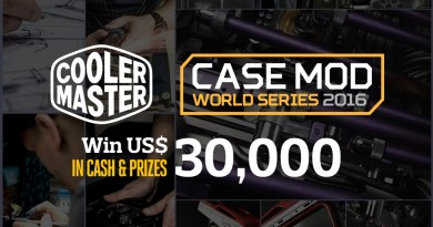 Case Mod World Series 2016 now open!
