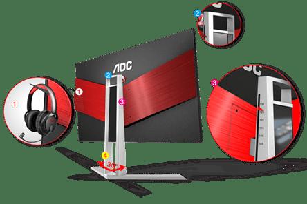 AOC announces AGON gaming brand