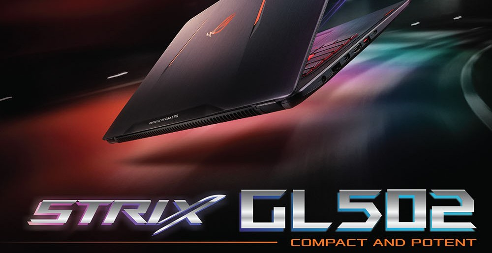 ASUS brings first STRIX laptop, the GL502VT