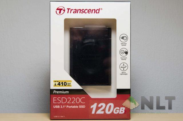 Transcend ESD220C box