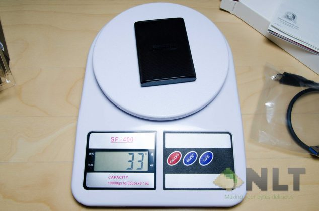 Transcend ESD220C weight
