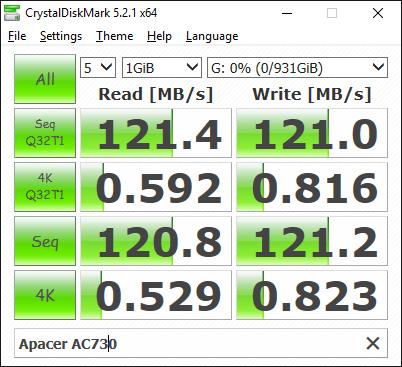 Apacer AC730 benchmark