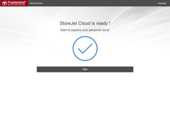 Transcend StoreJet Cloud 110K setup