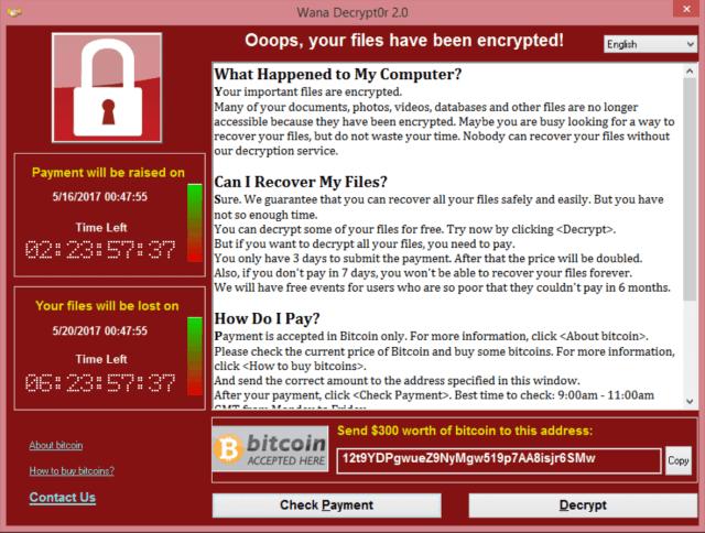 WannaCry decryptor