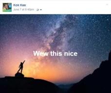 Facebook Background Posts milky way