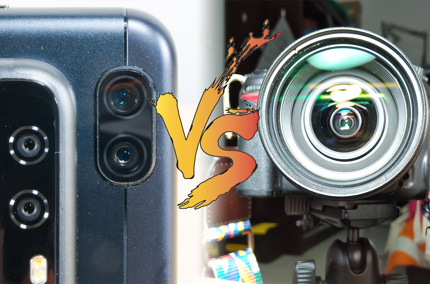 DSLR vs. Smartphone Photography