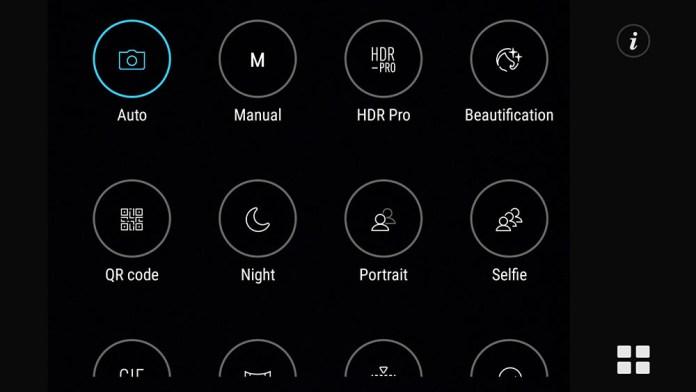 smartphone modes