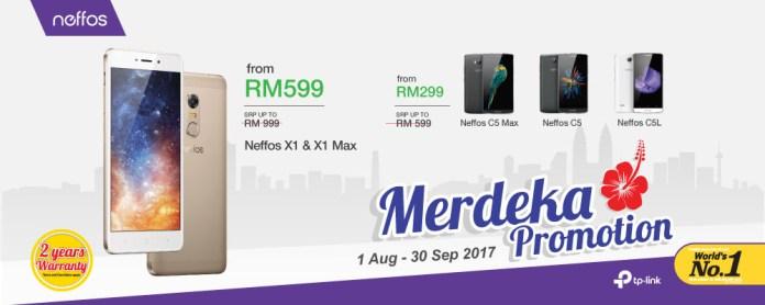 Neffos Merdeka Promotion