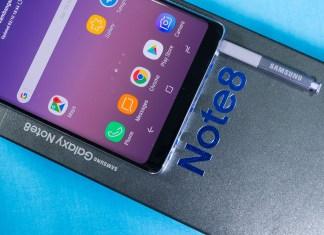 Samsung Galaxy Note8 header