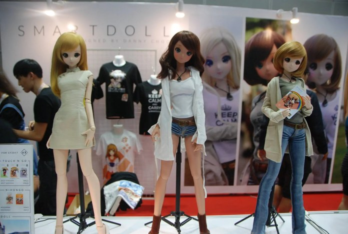 Smart Doll at Comic Fiesta 2017