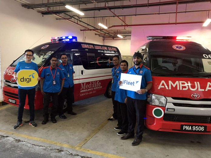 Digi iFleet Medilife Ambulance Services