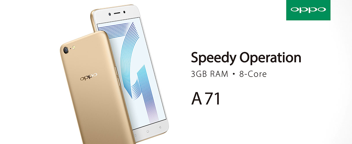 326d4ae00 OPPO A71 Launched  Decent Specs For RM699