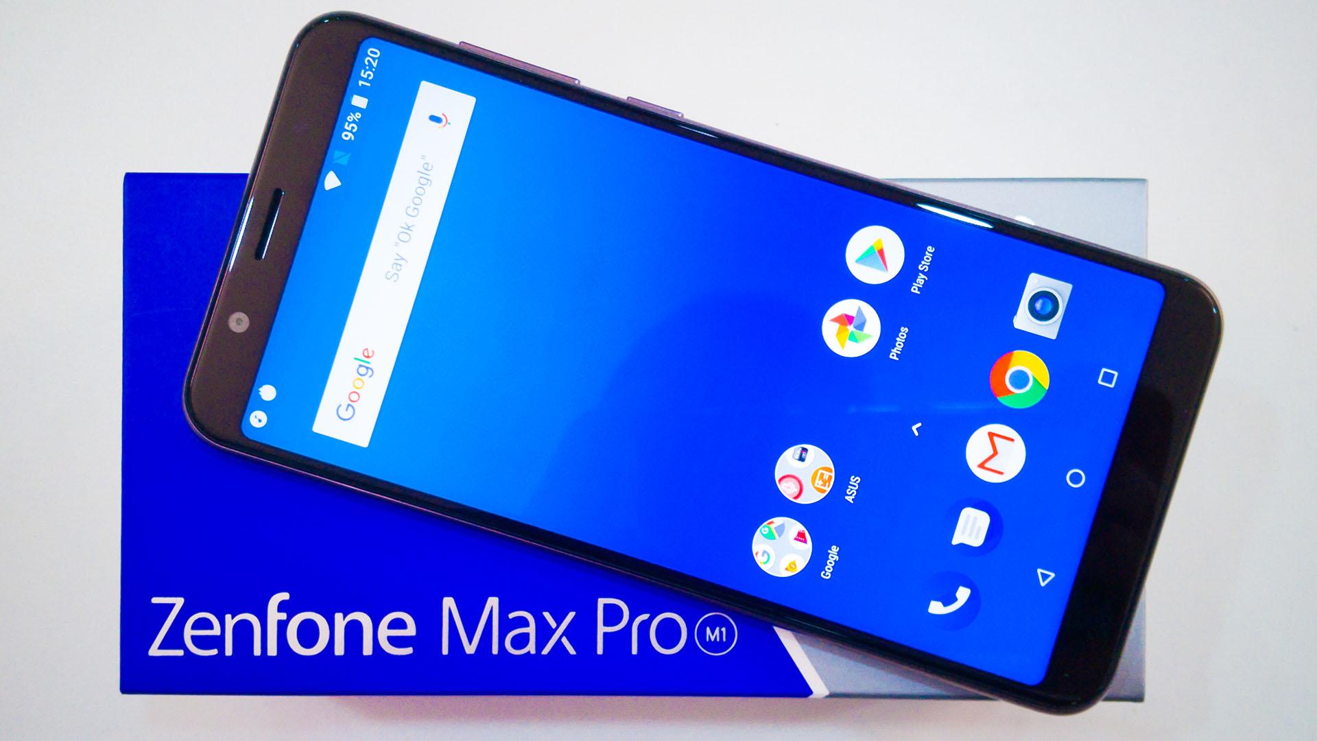 First Impression - ASUS ZenFone Max Pro (M1) | Nasi Lemak Tech