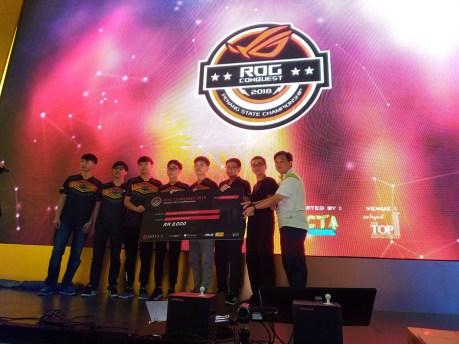 ROG Conquest Penang State Championship Champion Team Blackjack