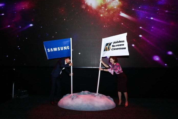 GSC Unveils Samsung Onyx Cinema LED Screen