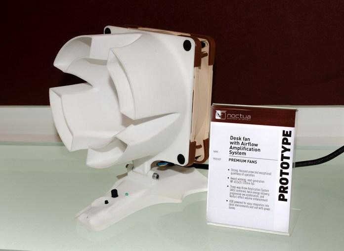 Noctua Desk Fan with Airflow Amplification System