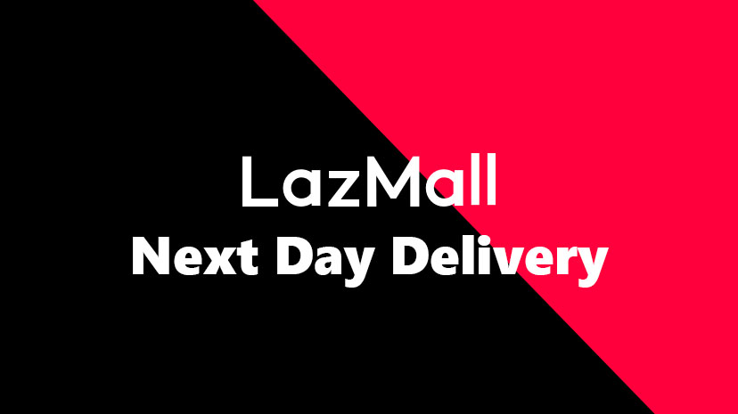 Lazada LazMall Next Day Delivery