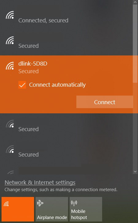 D-Link DIR-882 settings