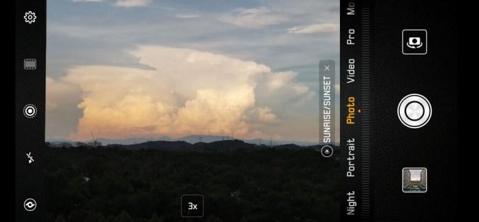 Huawei Mate 20 Pro Camera UI