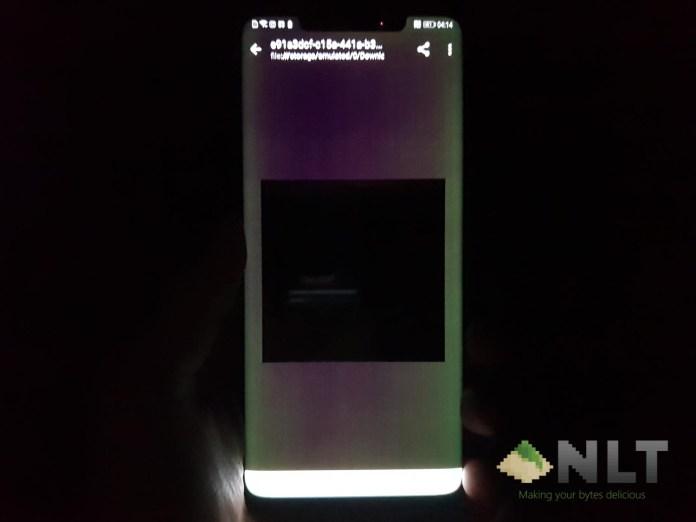 Huawei Mate 20 Pro green screen