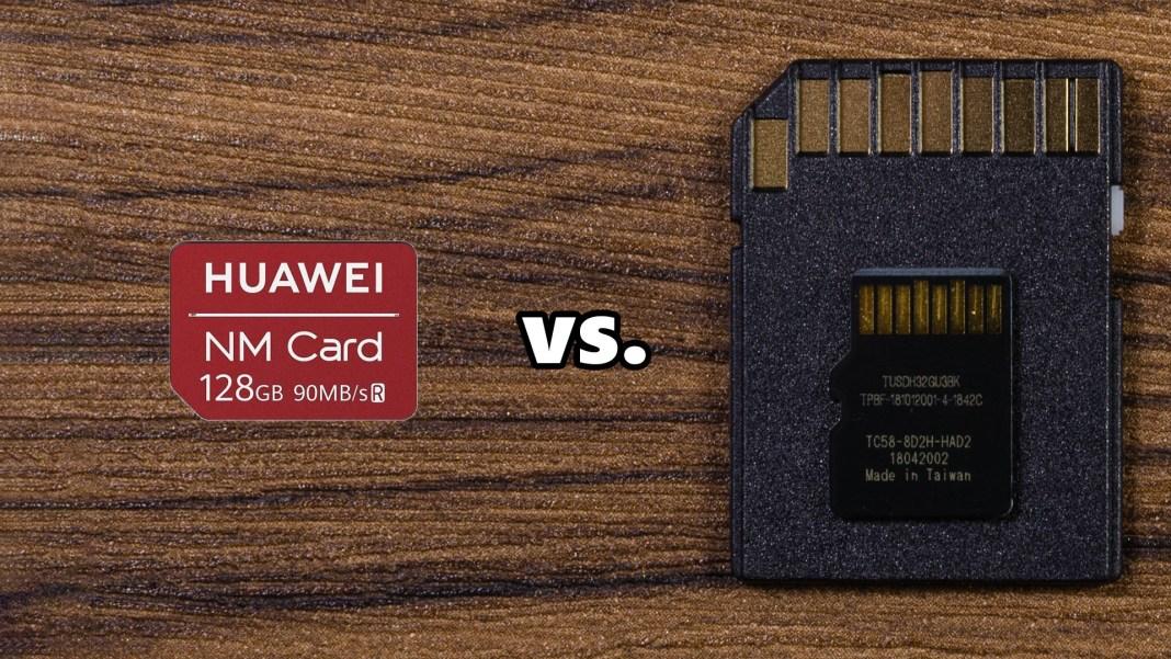 NM card vs microSD