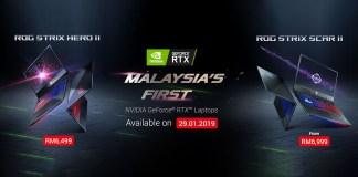 ASUS ROG Strix Scar II Hero II RTX 20-series GPU refresh