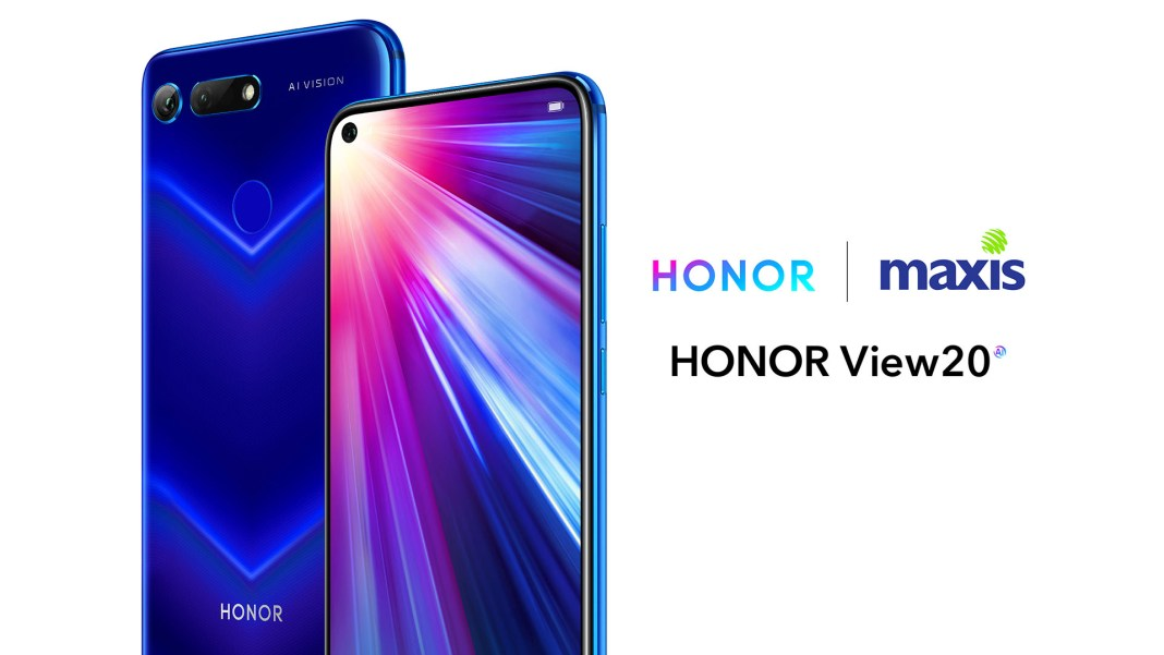 HONOR View20 MAXIS Sapphire Blue