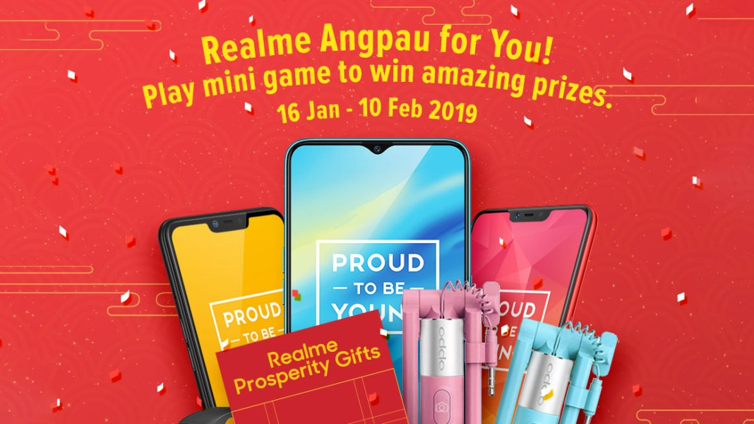 Realme Angpau For You Campaign