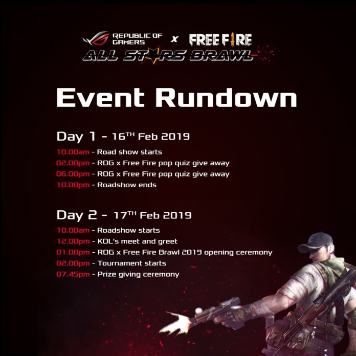 ROG x Free Fire All Stars Brawl Tournament