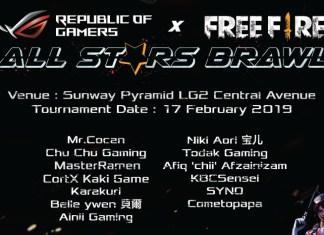 ROG x Free Fire All Stars Brawl Tournament