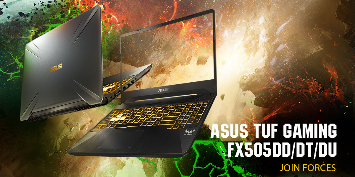 ASUS TUF FX505 & FX705 announced