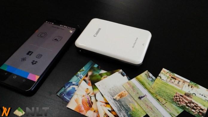 Review - Canon Mini Photo Printer (PV-123) 1