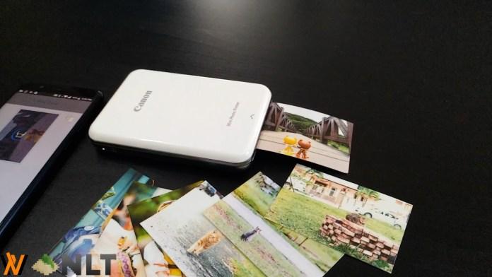 Review - Canon Mini Photo Printer (PV-123) 4
