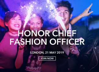 HONOR Chief Fashion Officer