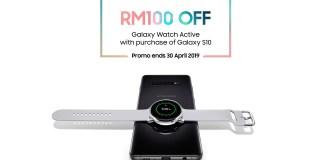 Samsung Galaxy S10 Galaxy Watch Active PWP