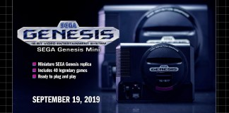 SEGA Genesis Mini announcement
