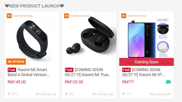 Xiaomi Official Store Global new products