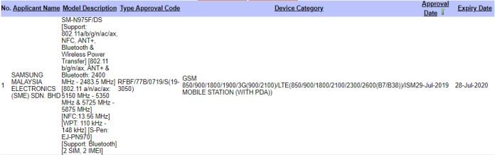 Samsung Galaxy Note 10 Plus SIRIM