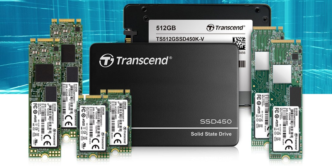 Transcend reveals embedded 3D NAND SSDs for AIoT market