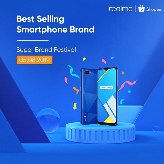 Realme C2 Shopee Super Brand Festival Day