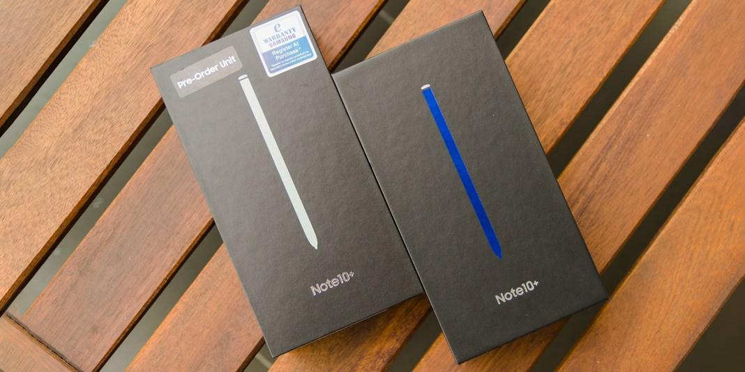 Samsung Galaxy Note10+ accessories Malaysia unit