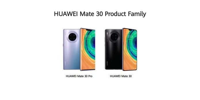 Huawei Mate 30 Mate 30 Pro
