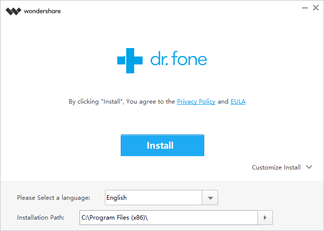 dr.fone android to android data transfer