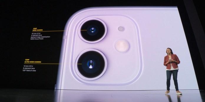 iPhone 11 camera summary