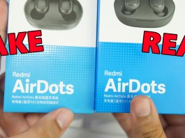 Fake Redmi AirDots vs real Redmi AirDots