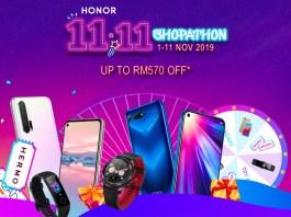HONOR Malaysia 11.11 2019 Deals