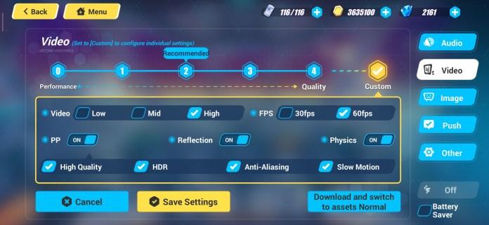 Redmi Note 8 Pro Honkai Impact 3